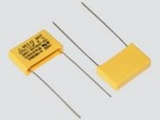 0,47мкф 280VAC ±10% (26.5*9*17) pitch-22 Class X2-MKP L=80mm изол