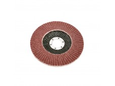 Диск абразивный лепестковый торцевой 125*22мм 80 Titan