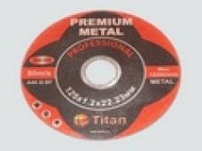 Диск отрезной по металлу PREMIUM 125*1.0*22.23мм (ув.ресурс на 50%) Ж.Б.