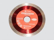 Диск алмазный 125х22,2мм сплошной, тонкий (толщина 1,6мм, напыление 11мм)