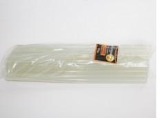 Стержень клеевой диаметр 11мм, длина 300мм, прозрачный, вес 1кг Titan