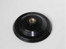 Диск шлифовальный 125мм для черепашек, латунная гайка, для УШМ. Резьба М14