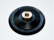 Диск шлифовальный 125мм для черепашек, большая латунная гайка, для УШМ. Резьба М14