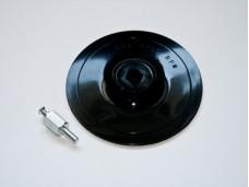 Диск шлифовальный для дрели 125мм х2мм пластиковый под липучку, 2мм