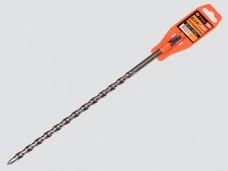 Бур 12х350мм для перф-ра SDS+,спираль S4(2-ная спираль) САМОЦЕНТРИРУЮЩИЙ нак-ик из тв.пластины ВК8