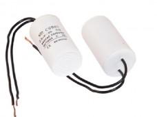 16мкф 450VAC 5% 37х70mm CBB60-K гибк.выв. конденсатор