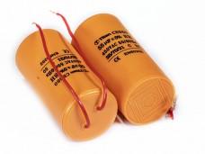 25мкф 450VAC 5% 40х70mm CBB60-K гибк.выв. конденсатор mini