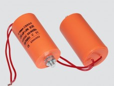 4мкф 450VAC 5% 30x57mm CBB60-G БОЛТ+ гибк.выв. конденсатор