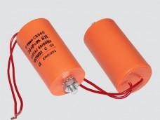 10мкф 450VAC 5% 35х65mm CBB60-G БОЛТ+ гибк.выв. конденсатор
