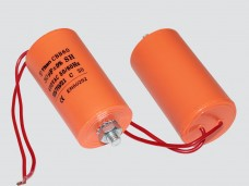30мкф 450VAC 5% 45x95mm CBB60-G БОЛТ+ гибк.выв. конденсатор