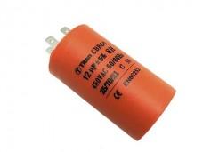 25мкф 450VAC 5% 40x70mm CBB60-A 4 КЛЕММЫ конденсатор mini