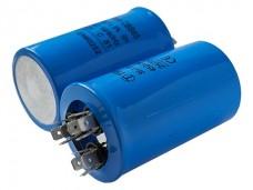 40+1,5мкф 450VAC 5% (50х85) CBB65-C (3 выв.) 12 клемм, конденсатор для кондиционеров
