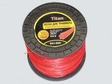 Леска для триммеров ЗВЕЗДА (бобина) 1.65мм* 650м, красный
