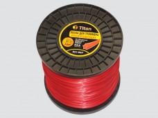 Леска для триммеров ЗВЕЗДА (бобина) 3.00мм*667м, красный
