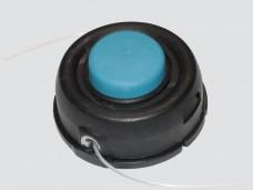 Головка режущая для триммера полуавтомат ( M10x1,25 левая) с синим носиком(большая)