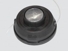Головка режущая для триммера полуавтомат, легкая заправка лески, (M10x1,25) подшипник, КРАСНАЯ КНОПК