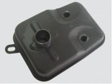 Глушитель двигателя для бензотриммера объемом 43-52 см.3