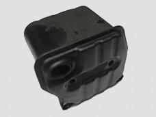 Глушитель двигателя для бензопилы объемом 45-52 см.3