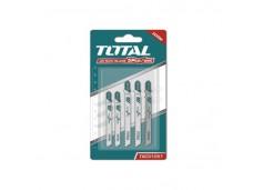 Набор пилок для лобзика 5 шт по металлу (T111C, T118B, T127D) TOTAL