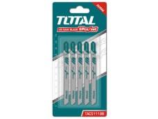 Набор пилок для лобзика 5 шт Т118В (металл) TOTAL