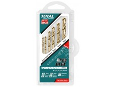 Набор сверл по металлу 2-8мм/5шт, для дрели  TOTAL