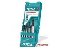 Набор экстракторов для болтов 3-6mm, 6-8mm, 8-11mm, 11-14mm, 14-18mm /5шт  TOTAL